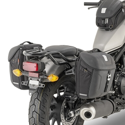 TMT1160 + MT501 : Givi saddlebags CB500