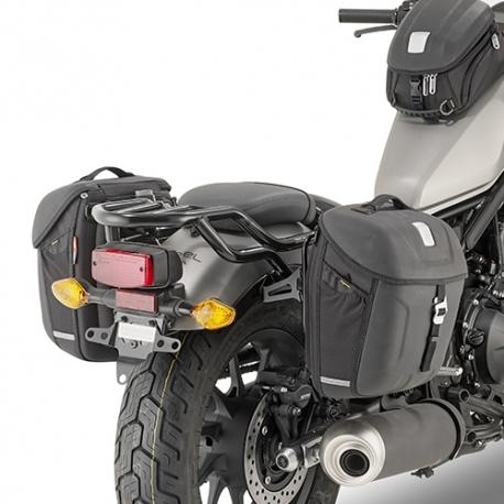 TMT1160 + MT501 : Sacoches cavalières Givi CB500X CB500F CBR500R