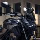 08R70-MKP-D40 : Honda smoked windshield 2019 CB500X CB500F CBR500R
