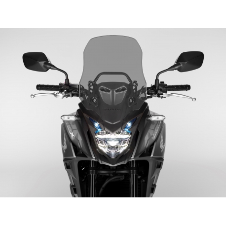 08R70-MKP-J80 : Honda CB500X tinted windshield CB500X CB500F CBR500R