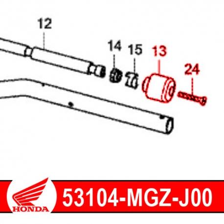 53104-MGZ-J00 : Honda original handlebar cap CB500