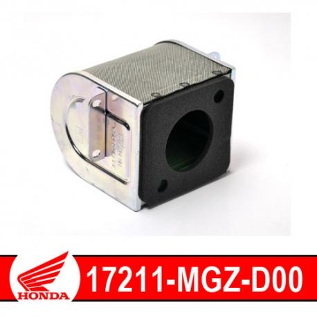 17211-MGZ-D00 : Filtre à air Honda CB500