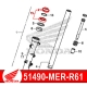 51490-MKA-D81 : Joint spi origine Honda CB500X CB500F CBR500R