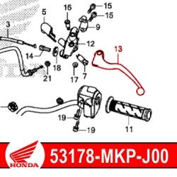 Levier embrayage origine Honda