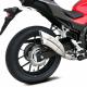QH6334 : Silencieux Ixrace Z7 inox 2016 CB500X CB500F CBR500R