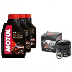 CB500 Motul 7100 Oil change pack