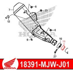 18391-MJW-J01 : Joint de silencieux d'échappement Honda CB500X CB500F CBR500R
