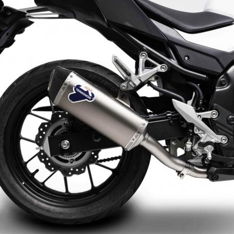 H14408040ITC : Termignoni titanium-carbon exhaust CB500X CB500F CBR500R