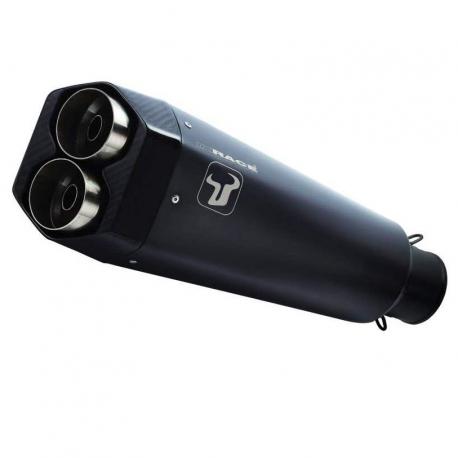 WH6636B : Ixrace M9 black exhaust 2019 CB500X CB500F CBR500R