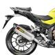 S-H5SO3-HRSS : Akrapovic exhaust 2016 CB500X CB500F CBR500R
