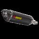 S-H5SO4-HRC : Echappement Akrpovic 2019 CB500X CB500F CBR500R