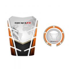 GP-182 + GP-345 : Fuel tank / cap protector pack CB500X 2016 CB500X CB500F CBR500R