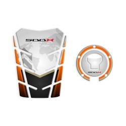 GP-182 + GP-345 : Pack protège-réservoir / bouchon d'essence CB500X 2016 CB500X CB500F CBR500R