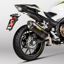 S-H5SO4-HRC/1 : Akrapovic Exhaust 2019 CB500X CB500F CBR500R