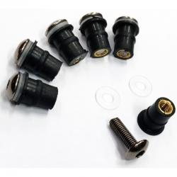 KITVIS6 : Windshield screw kit CB500X CB500F CBR500R