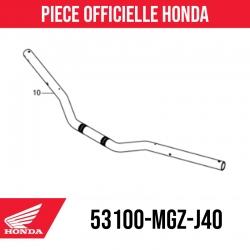 Honda original handlebars