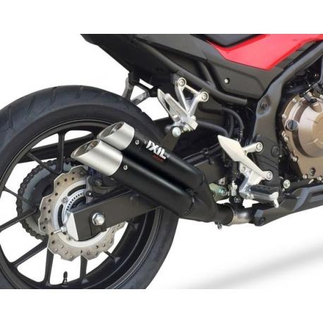 XH6334XB : Ixil L3X Black Exhaust CB500X CB500F CBR500R