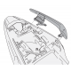 1121KIT : Givi PLX side case supports kit CB500X CB500F CBR500R