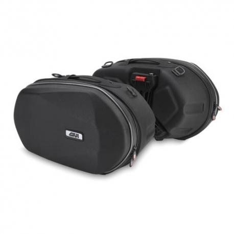 3D600 : Sacoches cavalières Givi 3D600 Easylock CB500
