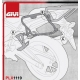 PLX1119 : Givi pannier holder PLX1119 CB500