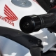 53104-MGZ-J00 + 90191-KYJ-900 : Embout de guidon d'origine Honda CB500X CB500F CBR500R