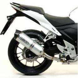 arrowracetech : Silencieux Arrow Race-Tech Aluminium CB500