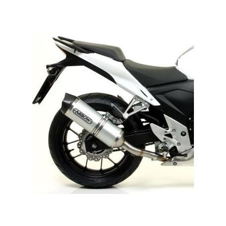 arrowracetech : Silencieux Arrow Race-Tech Aluminium CB500X CB500F CBR500R
