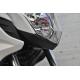 08F75-MGZ-J40 : Honda carbon headlight front cover CB500