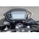 08F91-MGZ-J40 : Entourage de compteur carbone Honda CB500