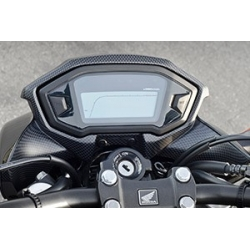 Honda carbon meter cover