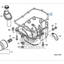 11396-MGZ-J00 : Joint de Carter Inférieur CB500