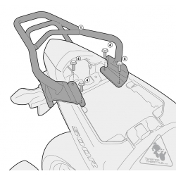 SR1119 : Givi Top Box Rack CB500X CB500F CBR500R