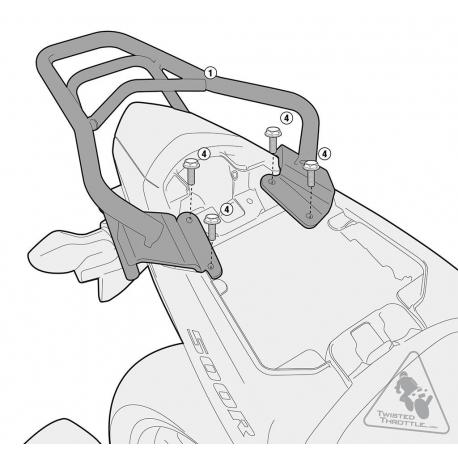 SR1119 : Givi Top Box Rack X-ADV