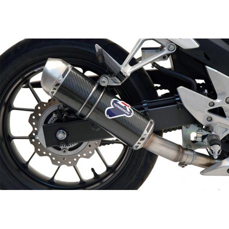 H116080CVI : Carbon/inox Termignoni Strada Silencer CB500