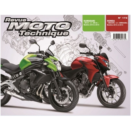 RMT172 : CB500 / CBR500 Technical notice CB500