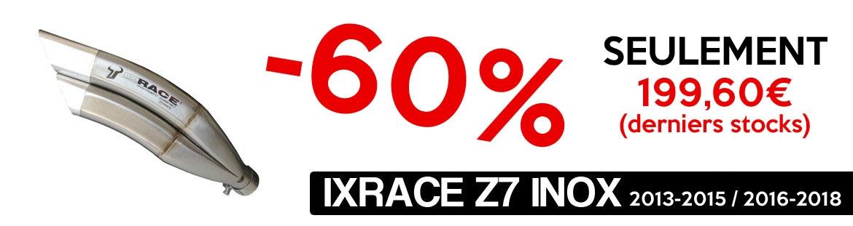 Promotion IXRACE derniers stocks